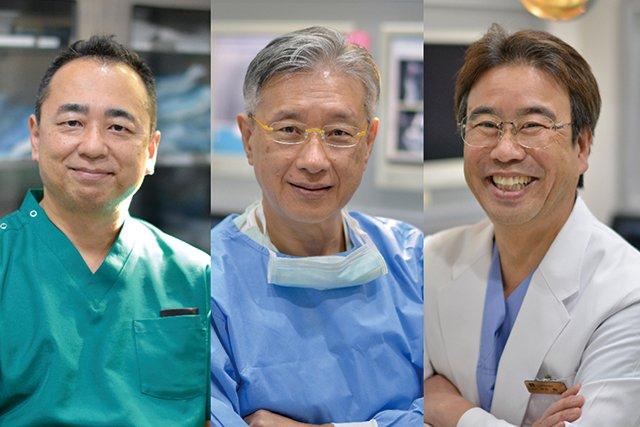 歯科医師3名