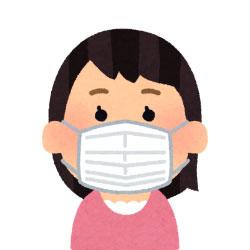 院内では治療中以外は100%マスクの着用のご協力