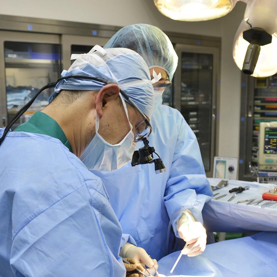 熟練の「インプラント手術 専門医」が執刀します。