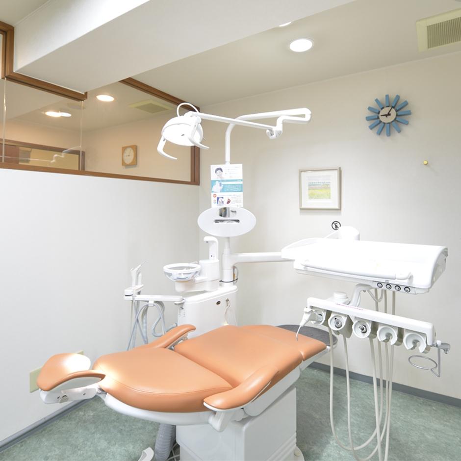 これから先の健康的な 口腔環境の維持に、クリニックが サポートしていきます。